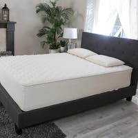 Hevea Bliss 9-inch King-size Flippable Natural Latex Mattress