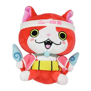 Bandai Yokai Watch 6-inch Jibanyan Plush Toy