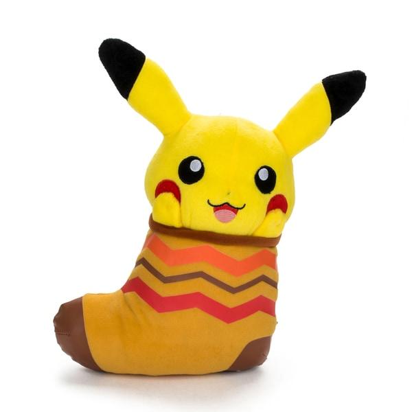 Banpresto Plush Pokemon 11-inch Pikachu in Stocking