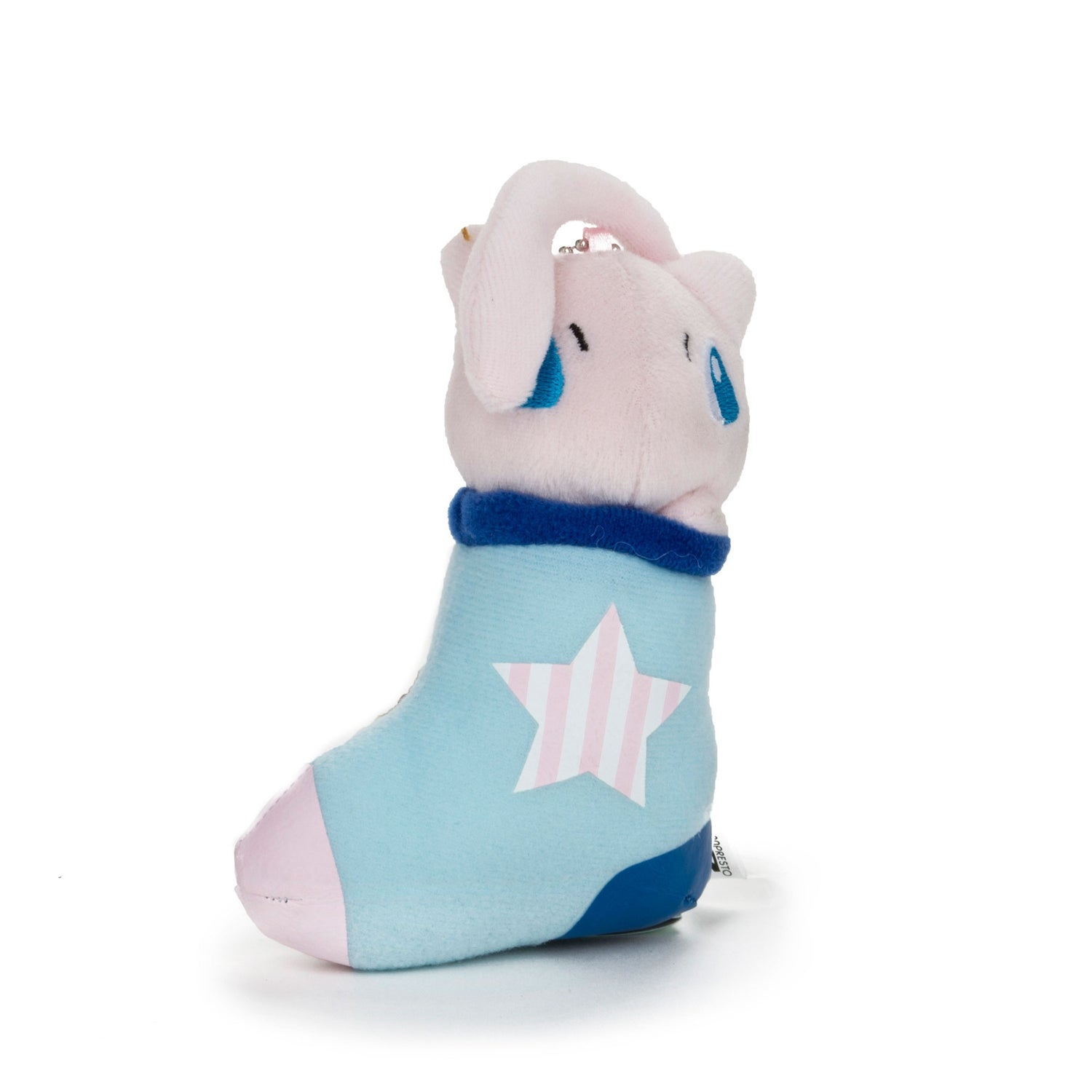 Banpresto Pokemon Stocking Plush Charms Mew, Blue/Pink