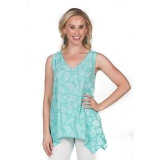 Xehar Women's Loose Sleeveless Tunic