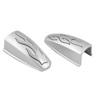 Pilot Automotive Silver 2-piece Set Washer Nozzle Covers