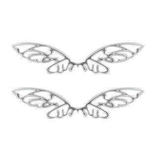 Pilot Automotive Chrome Butterfly Mirror Accent