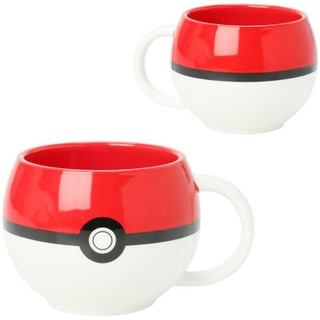 Just Funky Pokemon PokeBall Ceramic Mug