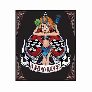 Pilot Automotive 6-inch x 8-inch Lady Luc Decal Car Sticker