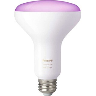 Philips Hue 65W White and Color Ambiance BR30 LED Flood Light Bulb