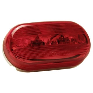 Pilot Automotive Red NV5005R 12 Volt Oval Side Marker / Reflector Light