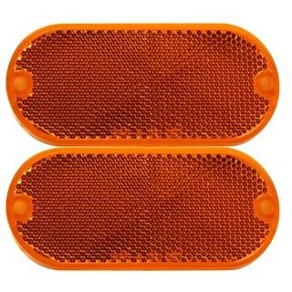 Pilot Automotive Amber NV5022A 2 Piece Oval Side Marker / Reflector Lights