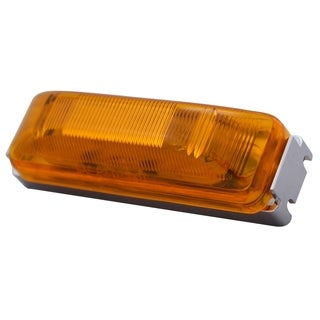Pilot Automotive Amber NV5055A 12 Volt 4-inch Side Marker / Reflector Light