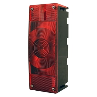 Pilot Automotive Red NV5077 7 Function Tail Light for Trailers under 80-inch
