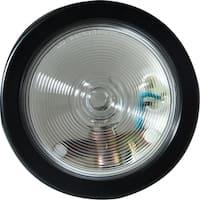 Pilot Automotive Clear NV-5162 12 Volt 4-inch Round Reverse Tail Light