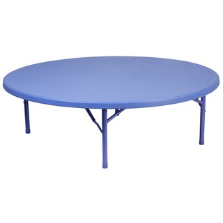 60-inch Round Kid's Plastic Folding Table