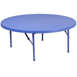 48-inch Round Kid's Plastic Folding Table