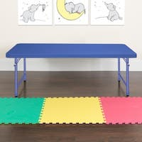 30 x 60-inch Kid's Plastic Folding Table