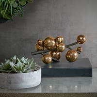 INK+IVY Amora Gold Decorative Sculpture