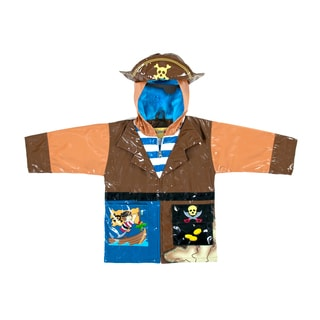 Kidorable Baby Boy Pirate Rain Coat