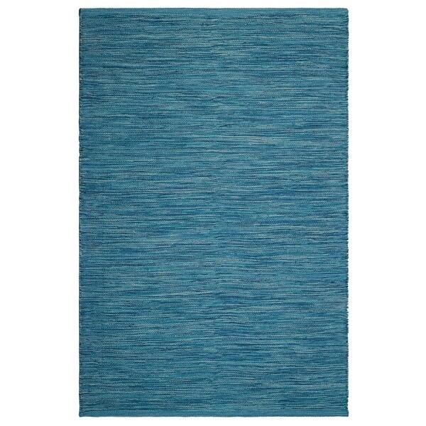 Fab Habitat, Indoor/Outdoor Floor Rug - Handwoven, Made from Recycled  Plastic Bottles - Cancun/Blue - 2' x 3' - 2' x 3'