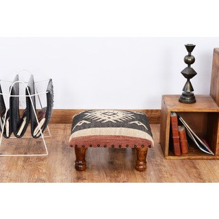 Herat Oriental Indo Handmade Kilim Upholstered Footstool https://ak1.ostkcdn.com/images/products/16257359/P22623476.jpg?_ostk_perf_=percv&impolicy=medium