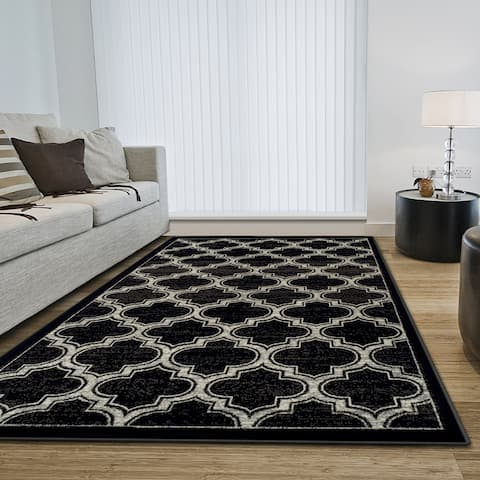 Superior Designer Bohemian Trellis Area Rug Collection (8' X 10')
