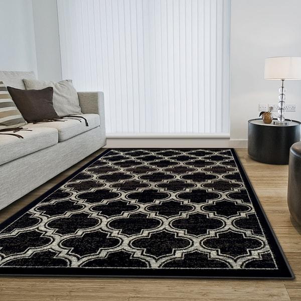 Superior Designer Bohemian Trellis Area Rug Collection - 8' x 10'