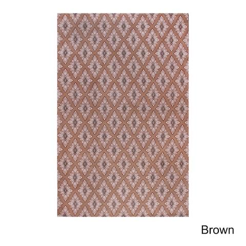 Superior Birmingham Cotton Chenille Hand Woven Area Rug (8' x 10')