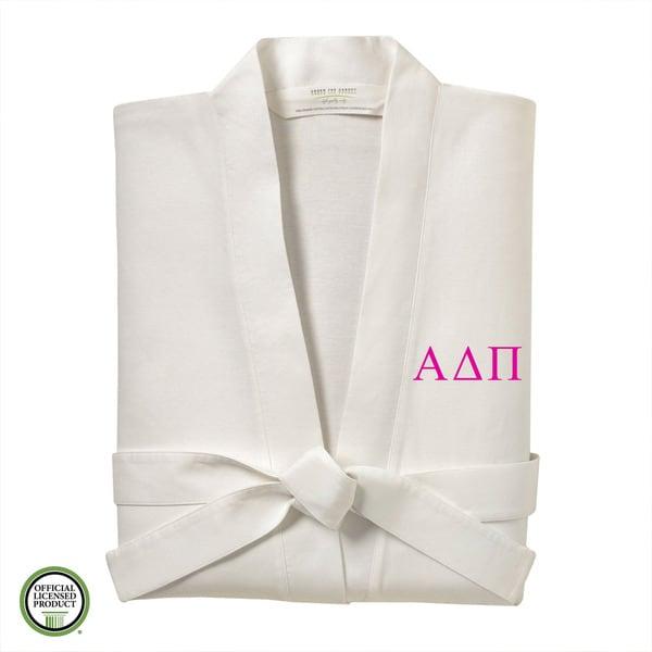Under the Canopy Alpha Delta Pi Monogrammed Kimono Bath Robe