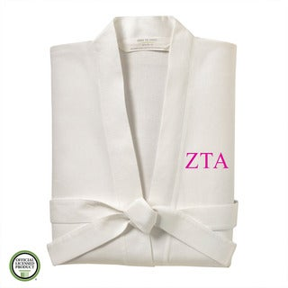 Under the Canopy Zeta Tau Alpha Monogrammed Kimono Bath Robe