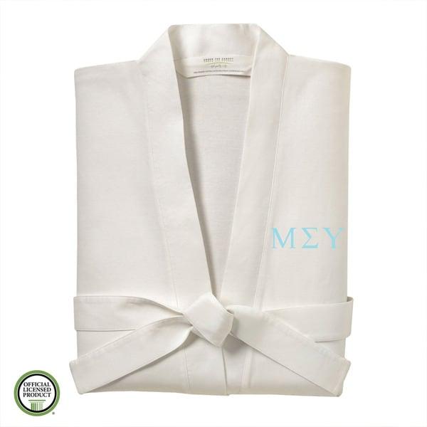 Under the Canopy Mu Sigma Upsilon Monogrammed Kimono Bath Robe