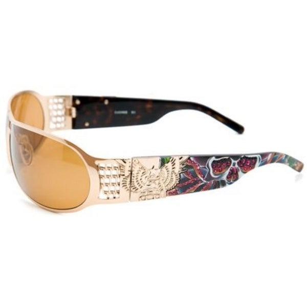 Christian Audigier Splatter CAS403 Unisex Sunglasses