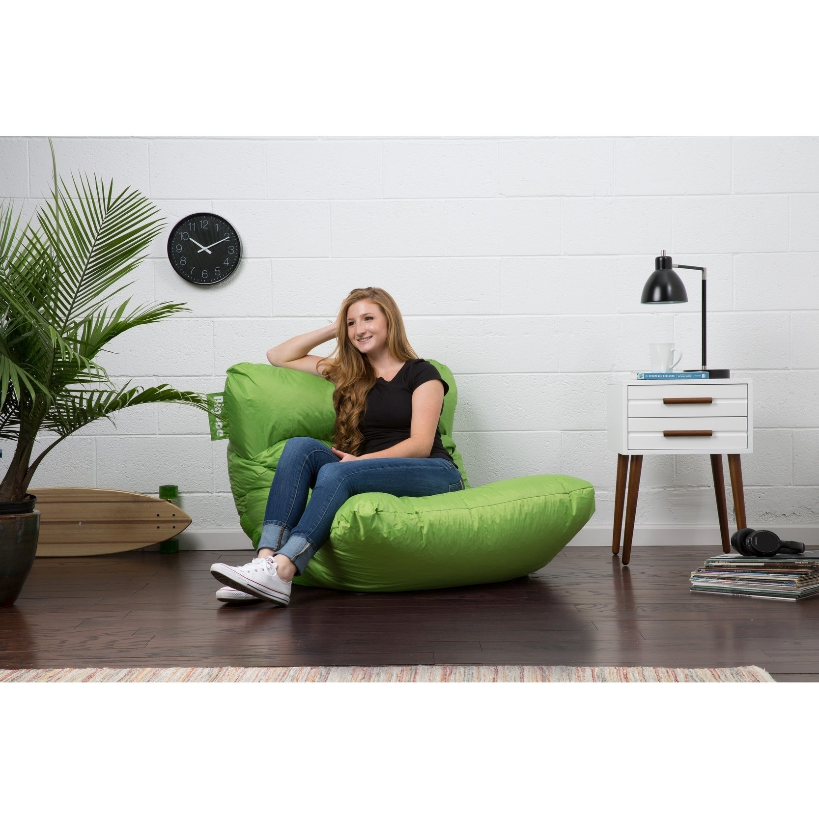 Wondrous Details About Big Joe Roma Bean Bag Chair Smartmax Caraccident5 Cool Chair Designs And Ideas Caraccident5Info