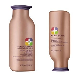 Pureology Super Smooth 8.5-ounce Shampoo & Conditioner