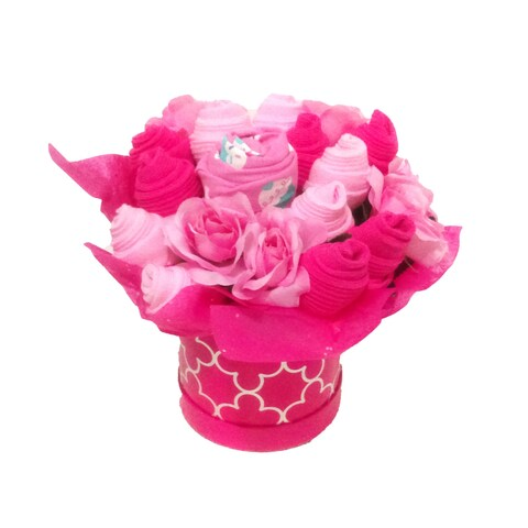 Classic Pink Blossom Clothing Bouquet