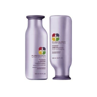 Pureology Hydrate 8.5-ounce Shampoo & Conditioner Duo|https://ak1.ostkcdn.com/images/products/16257805/P22623842.jpg?impolicy=medium
