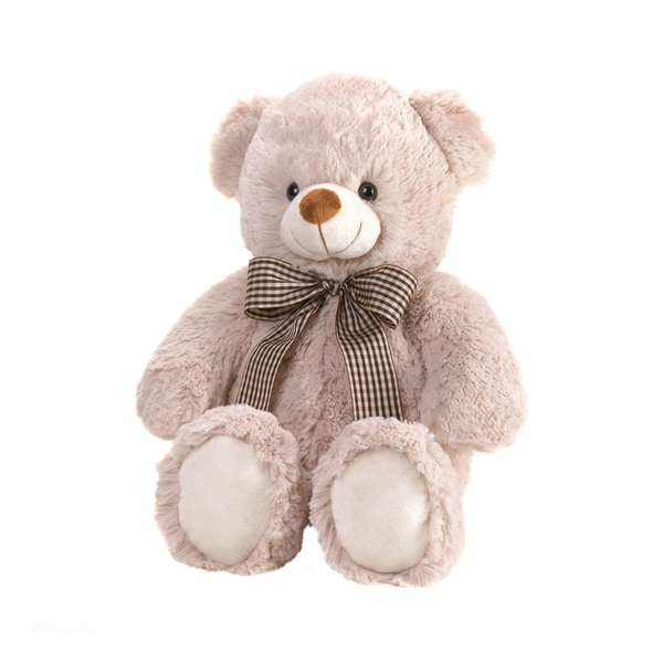 Koehler Home Decor Plush Fuzzy Beige Bear