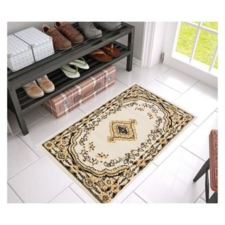 Eastgate Traditional Medallion Ivory Area Rug (2'3 x 3'11)