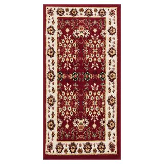 "Well Woven Eastgate Traditional Oriental Classic Red Mat Accent Rug - 2'3"" x 3'11"""