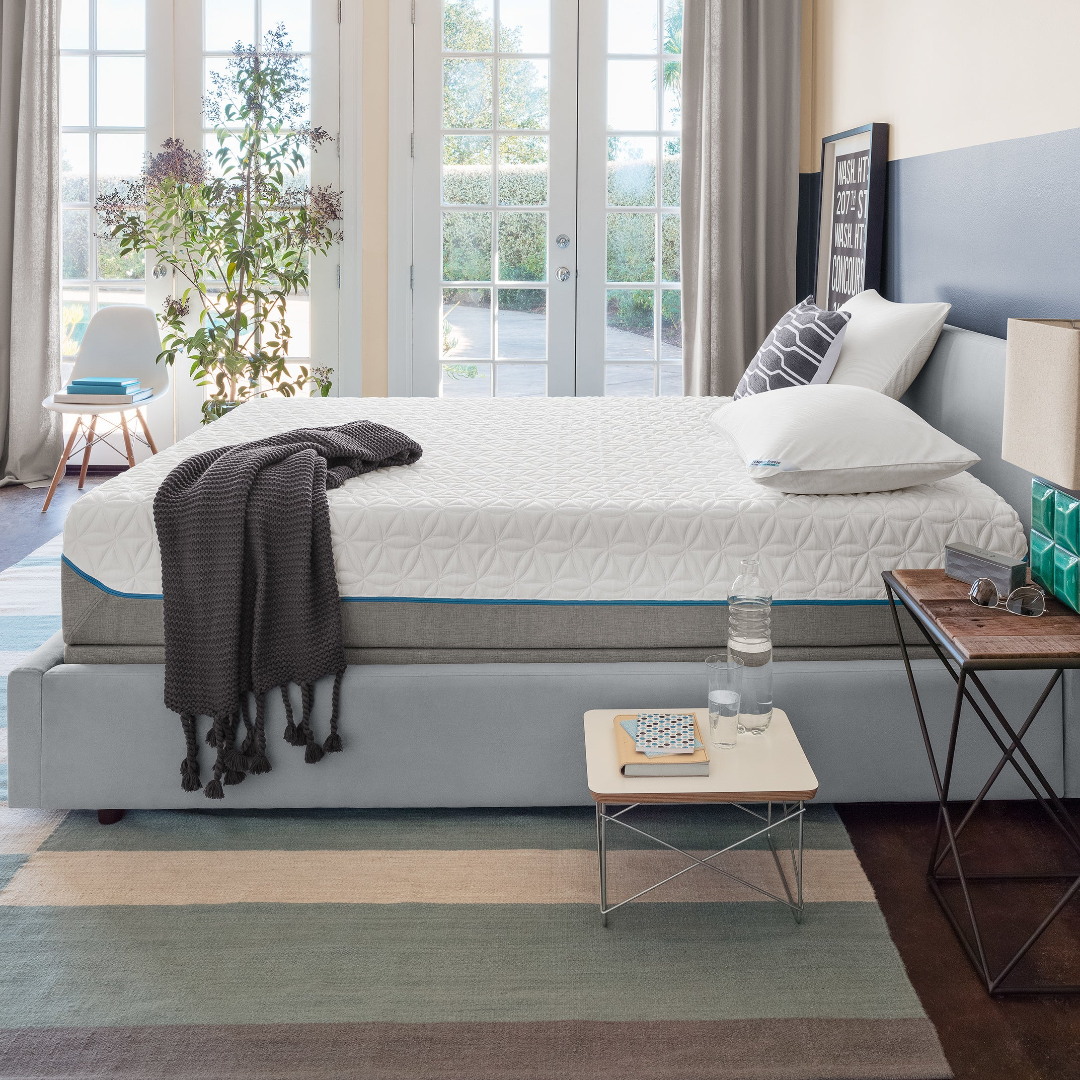 Tempur Pedic TEMPUR‐Cloud Supreme 11.5-inch Queen-size Me...