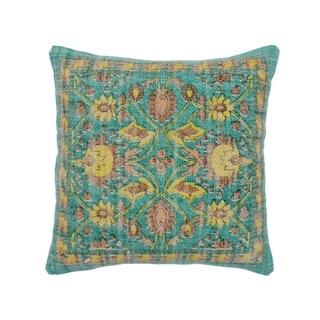 Herat Oriental Handmade Indo Cotton 20'' Throw Pillows (Set of Two)