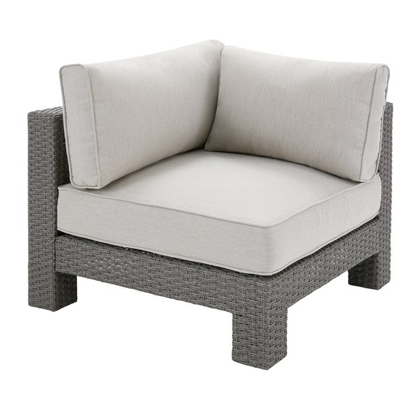 Exceptionnel Madison Park Perry Light Grey Patio Corner Sectional Chair