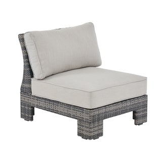 Madison Park Lenox Dark Grey/ Grey Outdoor Sectional Lounge