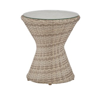 INK+IVY Kelsey Sand Outdoor End Table