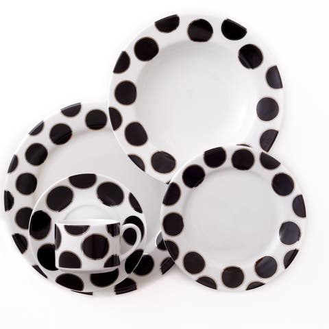 Darbie Angell Black Pearl 5 Piece Place Setting