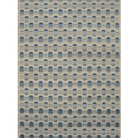 Ecarpetgallery Flatweave Ankara Yellow Wool Kilim Rug - 8'2 x 10'11