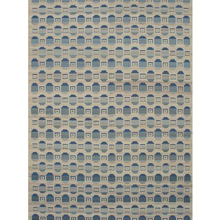 Ecarpetgallery Flatweave Ankara Yellow Wool Kilim Rug