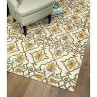 Hand-Tufted Christopher Imperial Beige Wool Rug - 9' x 12'