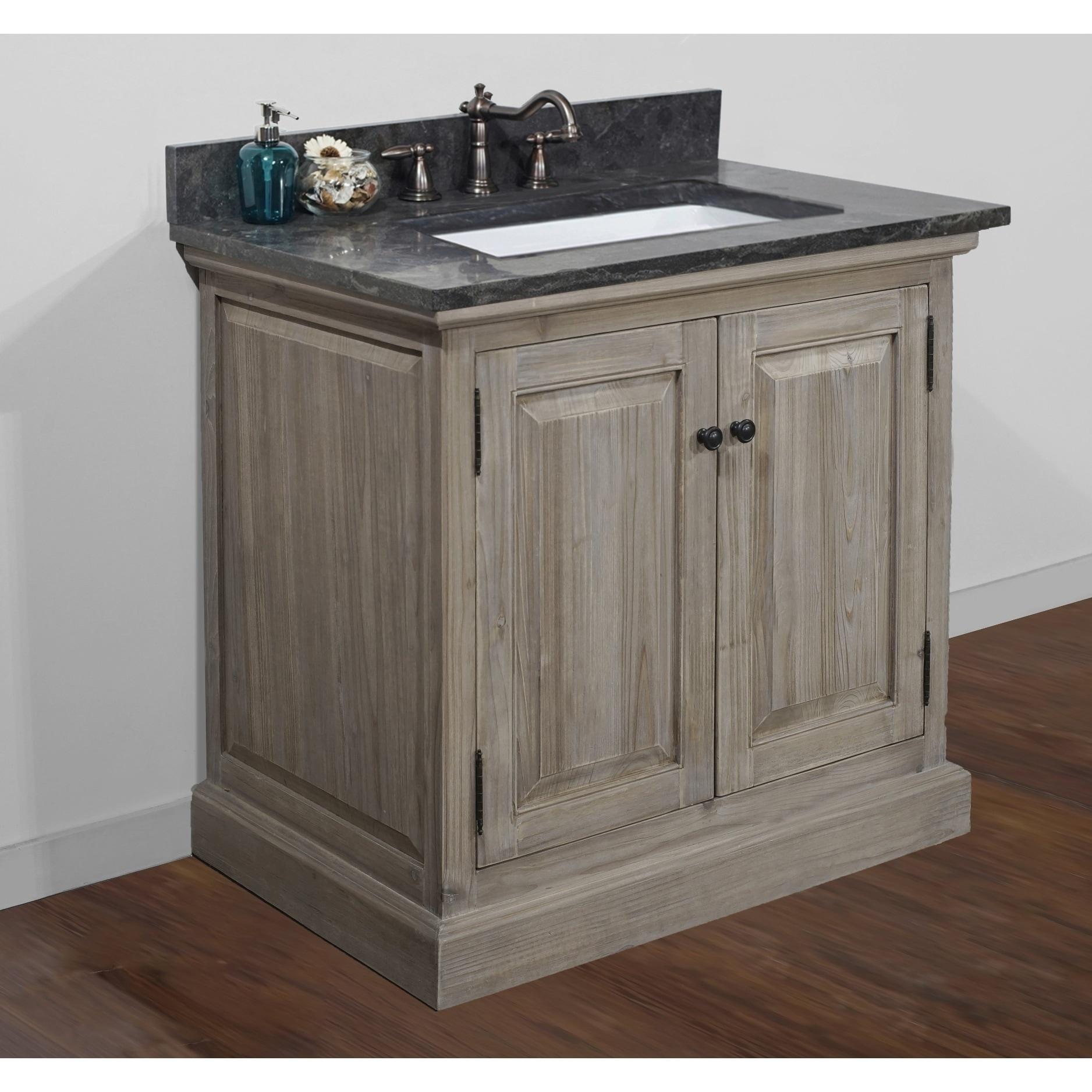 36 Inch Single Sink Bathroom Vanity