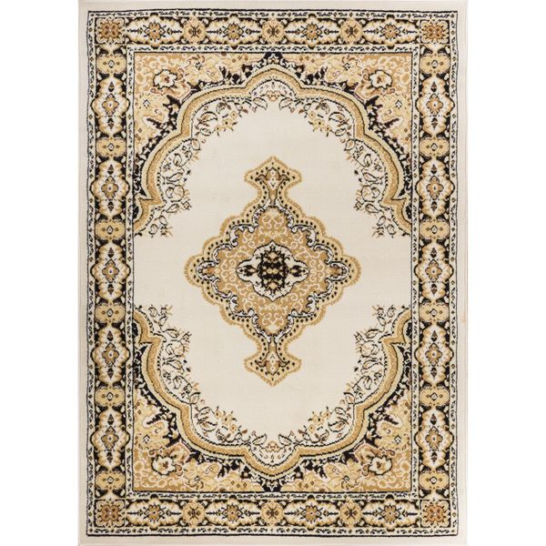 """Well Woven Eastgate Traditional Medallion Ivory Area Rug - 8'2"""" x 9'10"""""""