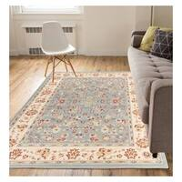 """Eastgate Traditional Oriental Classic Blue Area Rug - 5'3"""" x 7'3"""""""