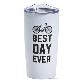 TAG Best Day Double Wall Stainless Steel Travel Mug