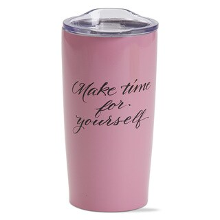 TAG Make Time Double Wall Stainless Steel Travel Mug